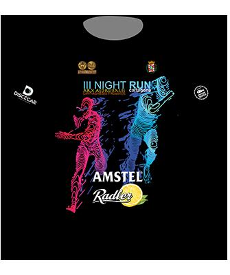 Camiseta sublimación Nightrunnew Amstel Radler